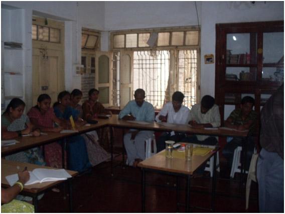 SamvedaTeachers meeting