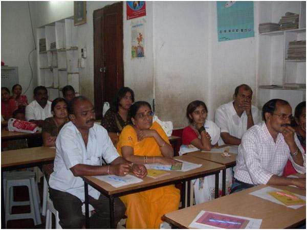 Samveda Teachers meeting