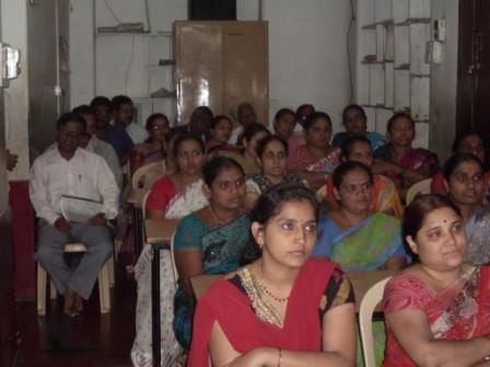 Samveda parents meeting