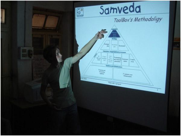 Sébastien Audureau -Samveda Volunteer